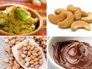 So lassen sich  Aubergine-Dip, veganes Nutella, Mandel- und Cashewmus selber machen