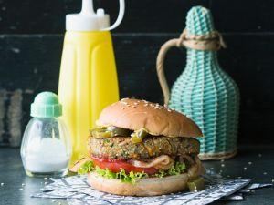 Tex-Mex-Tofuburger Rezept