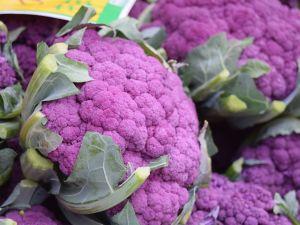 Lila Gemüse: Die Klassiker präsentieren sich in lila, violett und fliederblau