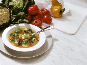 Vegetarische Gemüsesuppe Rezept