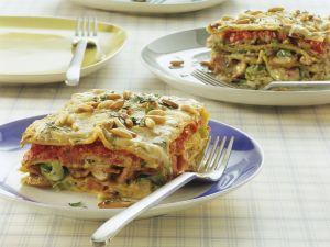 Vegetarische Lasagne mit Champignons Rezept