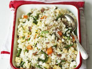 Vegetarischer Reissalat Rezept