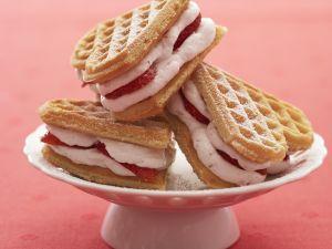 Waffel-Sandwich selber machen