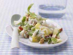 Waldorfsalat mit Ananas Rezept
