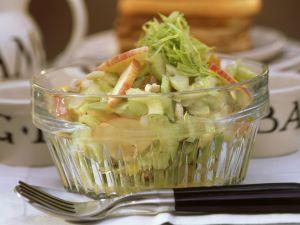 Waldorfsalat mit Mango-Chutney Rezept