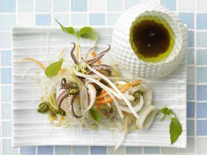 Warmer Thai-Salat Rezept