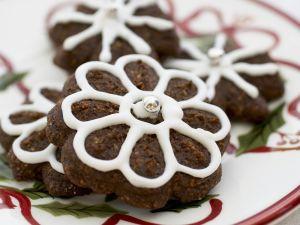 Weihnachtliche Blumen-Plätzchen Rezept