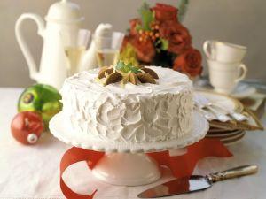 Weihnachtliche Ingwer-Sahne-Torte Rezept