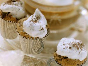 Weihnachtliche Minimuffins mit Baiser Rezept