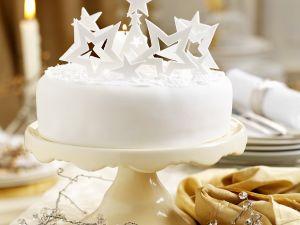 Weihnachtliche Torte mit Sternen Rezept