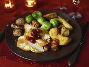 Weihnachtlicher Putenbraten Rezept