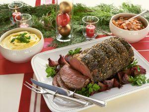 Weihnachtlicher Rinderbraten Rezept