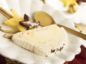 Weihnachtliches Vanilleparfait Rezept