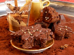 brownies zu weihnachten rezept eat smarter. Black Bedroom Furniture Sets. Home Design Ideas