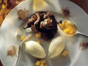 Weiße Schokocreme mit Mango Rezept