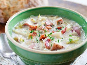 Weißkohl-Kartoffel-Suppe Rezept