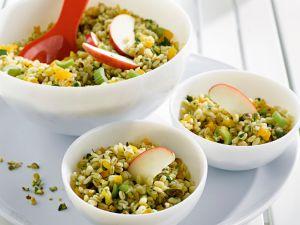Weizensalat mit Aprikosen Rezept