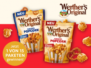 Gewinnen Sie den neuen Popcorn-Genuss von Werther's Original
