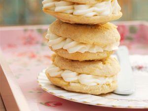 Whoopie Pies mit Frischkäsecreme Rezept