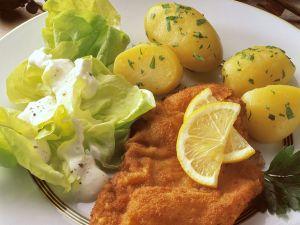 Wiener Schnitzel mit Kartoffeln Rezept