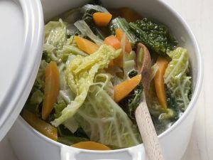 Wirsing-Karotten-Eintopf Rezept