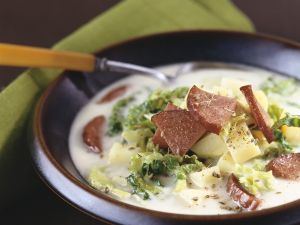 Wirsing-Kartoffelsuppe Rezept