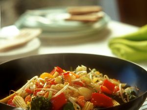 Wok-Gemüse Rezept