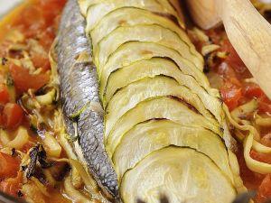 Wolfsbarsche mit Gemüse Rezept