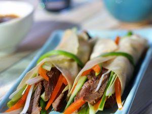 Wraps mit Ochsenfleisch Rezept
