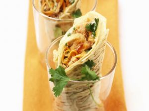 Wraps mit Thunfisch und Sprossen Rezept