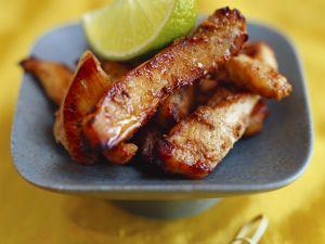 Würzige Hähnchenstreifen (Chicken Tikka) Rezept