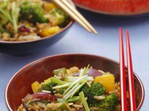 Würzige Reispfanne Rezept