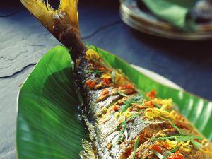 Würziger gegrillter Fisch Rezept