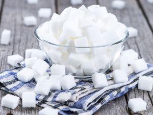 Rechenbeispiel mit Zuckerwürfeln