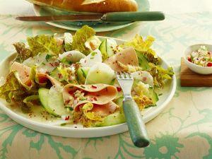 Wurstsalat mit Rettich Rezept
