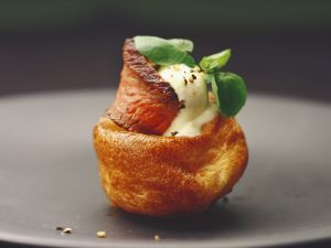 Yorkshire-Pudding mit Roastbeef Rezept