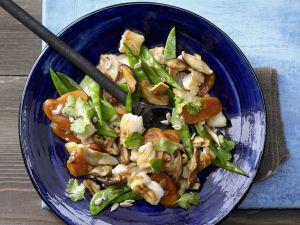 Zander-Gemüse-Pfanne Rezept