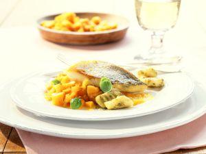 Zanderfilet mit Kürbis und Pesto-Gnocchi Rezept