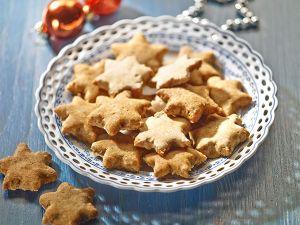 Weihnachtsplätzchen ohne Zucker und Weißmehl