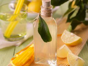 Zitronen-Basilikum-Sirup Rezept