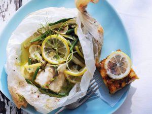 Zitronen-Fisch mit Gemüse Rezept