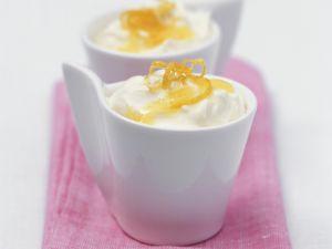 Zitronen-Joghurt-Creme Rezept