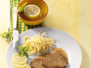 Zitronen-Kalbsschnitzel Rezept