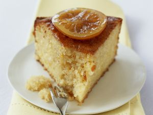 Zitronen-Mandel-Kuchen Rezept