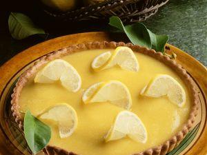 Zitronen-Tarte Rezept