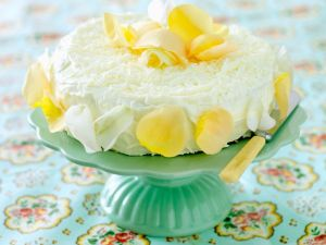 Zitronencreme-Kuchen Rezept