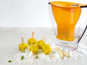 Zitronenmelisse-Birneneis-Lutscher Rezept