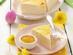 Zitroniger Käsekuchen Rezept