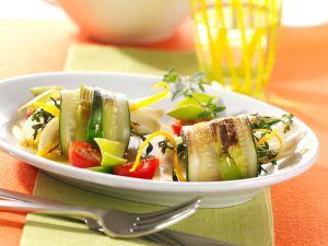 Zucchini-Fenchel-Rollen Rezept