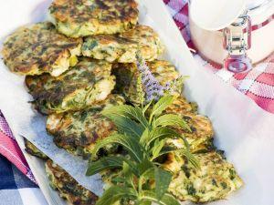 Zucchini-Frikadellen Rezept